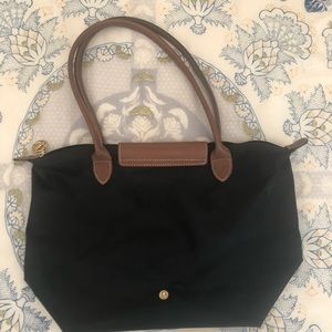 Longchamp Le Pilage Medium Tote Black
